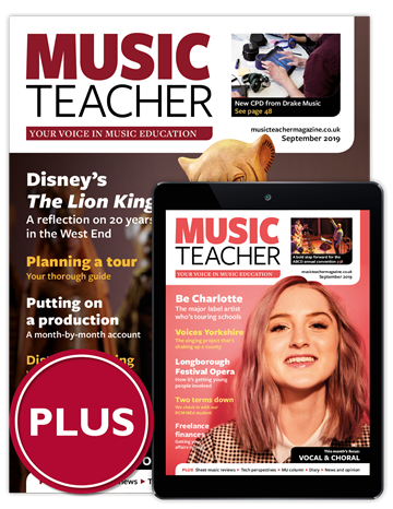 Picture of Music Teacher Print & Digital Plus