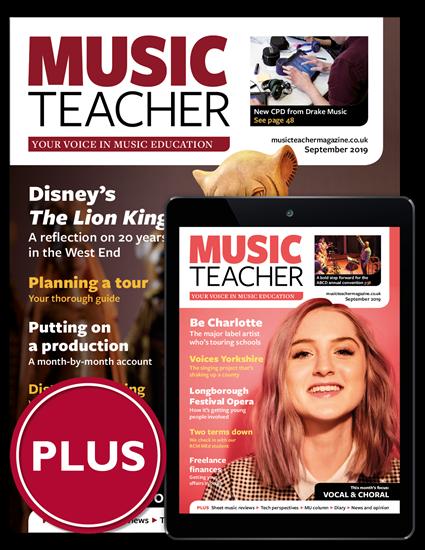 Picture of Music Teacher Print & Digital Plus
