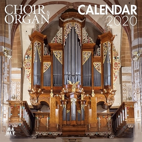 Picture of Choir & Organ Calendar 2020