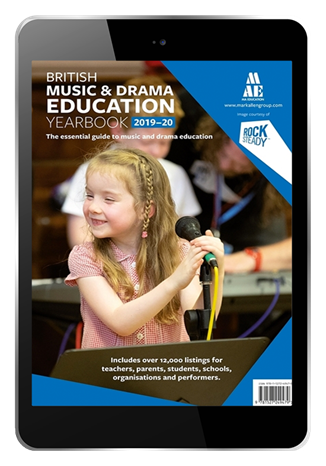 Picture of British Music & Drama Education Yearbook 2019-2020 Digital