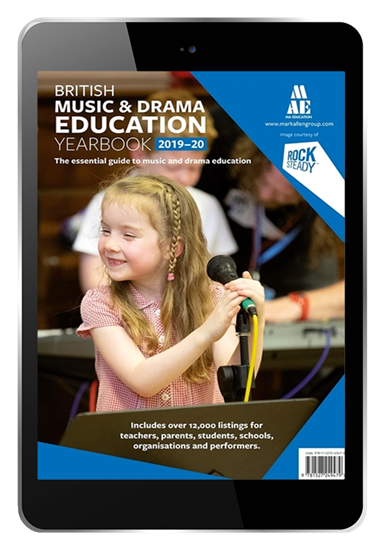 Picture of British Music & Drama Education Yearbook 2019-2020 Digital