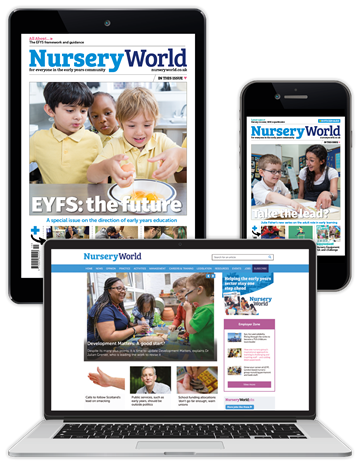 Picture of Nursery World Digital Membership