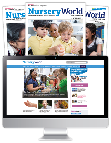 Picture of Nursery World Print & Website