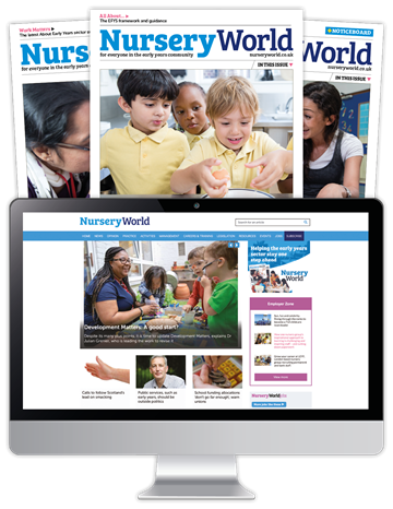 Picture of Nursery World Print & Website BAPN