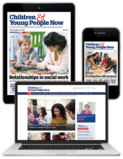 Picture of Children & Young People Now Digital Membership