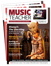 Picture for category ISM members save 20% on Music Teacher