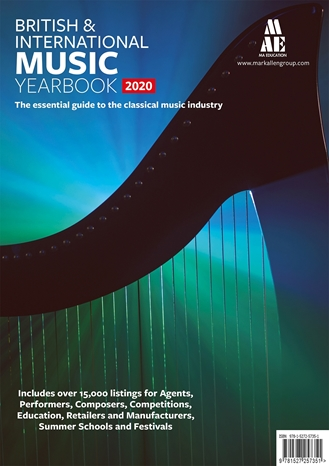 Picture of British & International Music Yearbook 2020 Print