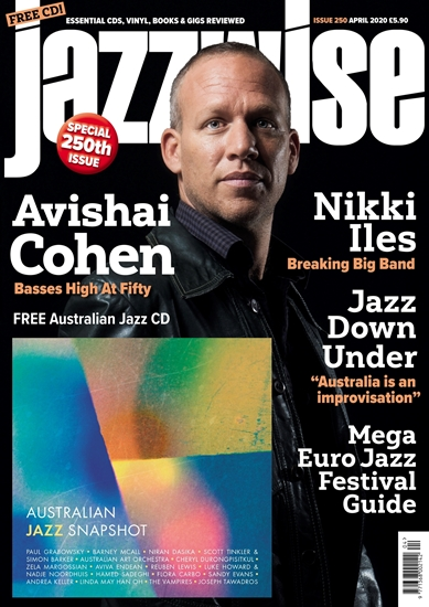 Picture of Jazzwise April 2020 issue