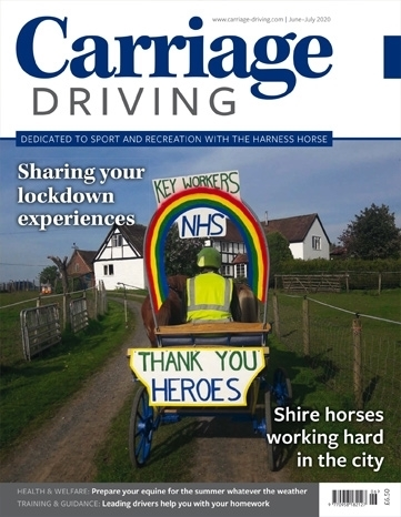 Picture of Carriage Driving June/July 2020 issue
