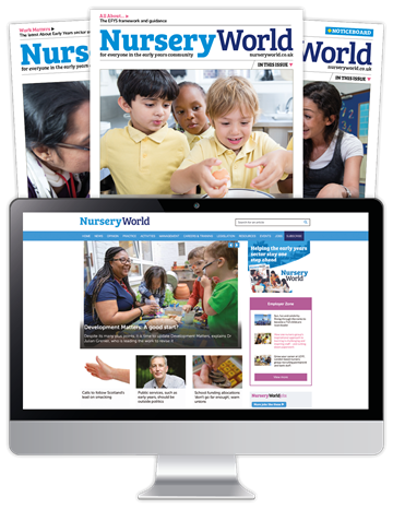 Picture of Nursery World Print & Website 3 Months