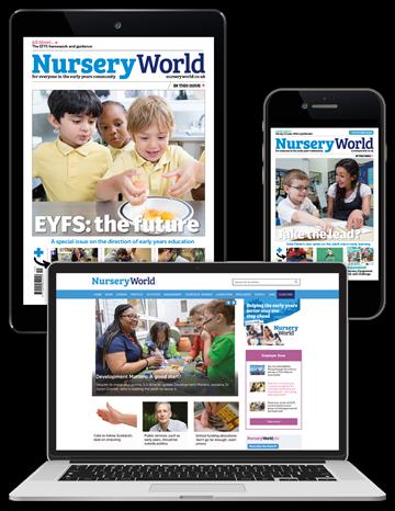 Picture of Nursery World Digital Membership 3 Months
