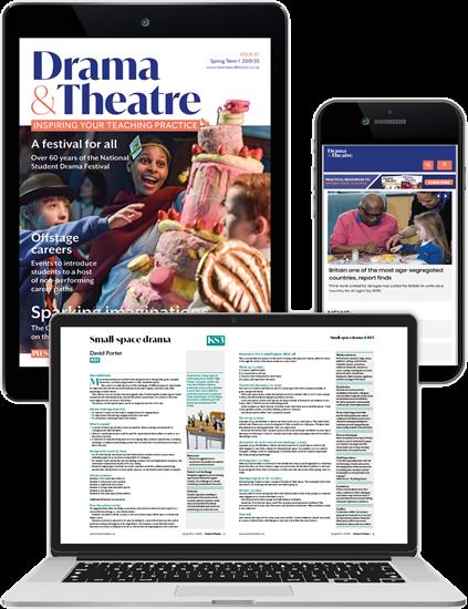 Picture of Drama & Theatre Digital Membership