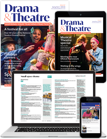 Picture of Drama & Theatre Full Membership