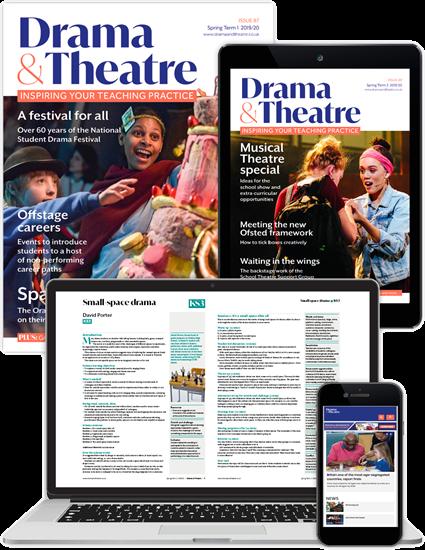 Picture of Drama & Theatre Full Membership