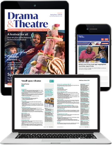 Picture of Drama & Theatre Digital Membership Upgrade