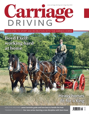 Picture of Carriage Driving August/September 2020 issue