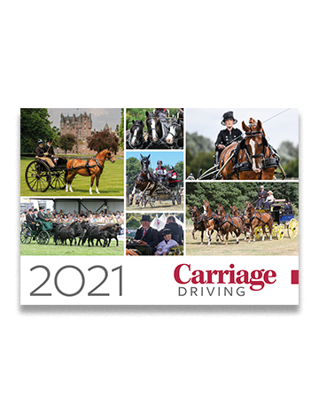 Picture of Carriage Driving Calendar 2021