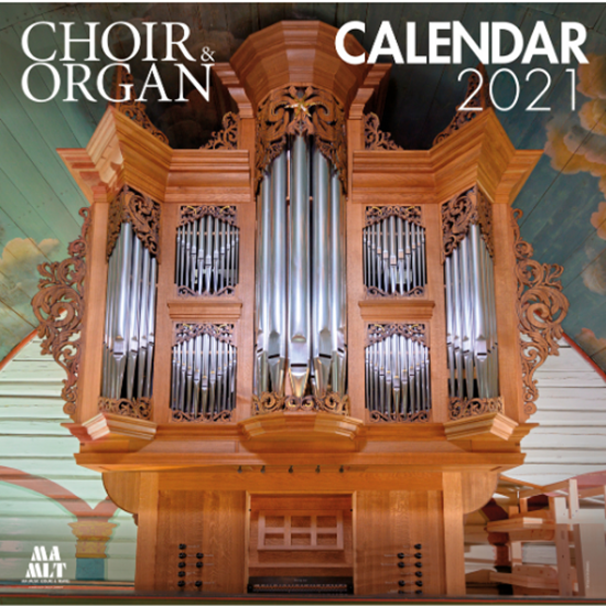 Picture of Choir & Organ Calendar 2021