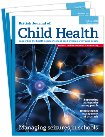 Picture of British Journal of Child Health Print & CPD SAPHNA Members