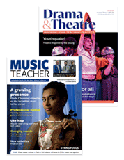 Picture for category Subscribe to Drama & Theatre or Music Teacher this Black Friday weekend and SAVE 25%