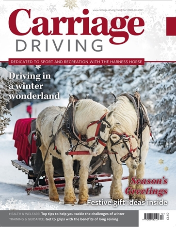 Picture of Carriage Driving December/January 2021 issue