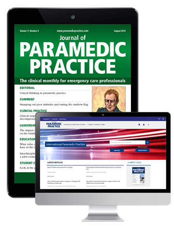 Picture of JPP Digital & Website and International Paramedic Practice Website