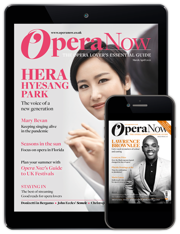 Picture of Opera Now Digital