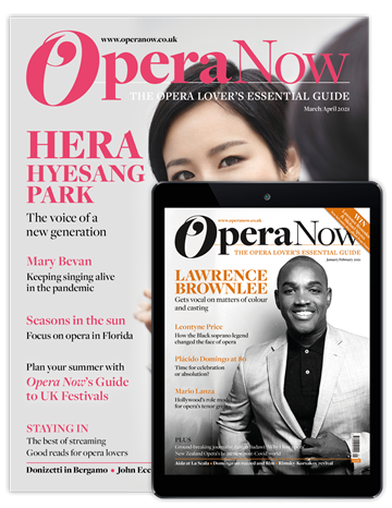 Picture of Opera Now Print & Digital
