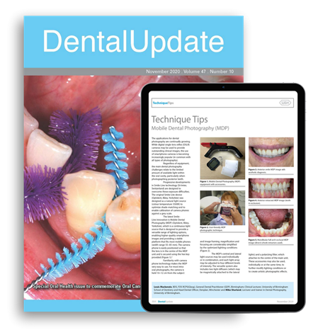 Picture of Dental Update Print & Website