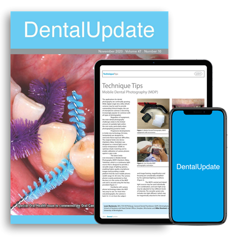 Picture of Dental Update Print, Website & App
