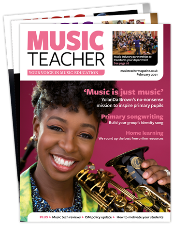 Picture of Music Teacher Print