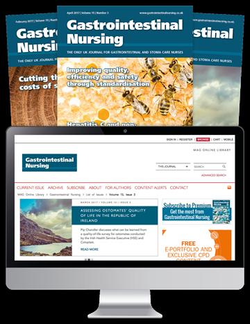 Picture of Gastrointestinal Nursing Print & Website - British Society of Gastroenterology