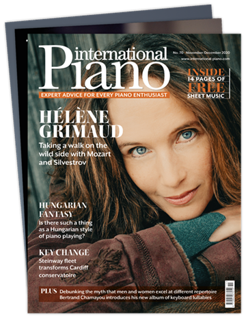 Picture of International Piano £3 for 3 issues