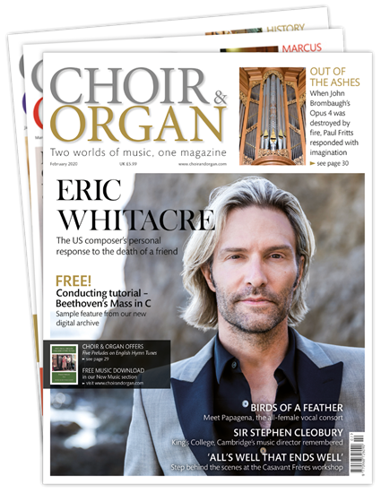 Picture of Choir & Organ £3 for 3 issues