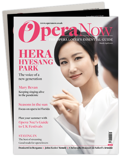 Picture of Opera Now £3 for 3 issues