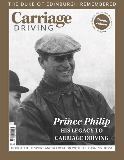 Picture of Carriage Driving Duke of Edinburgh Commemorative issue