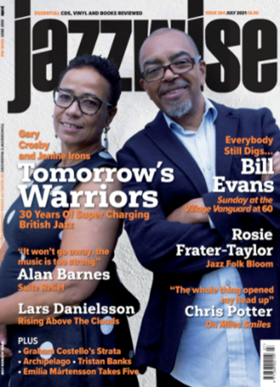 Picture of Jazzwise July 2021 issue