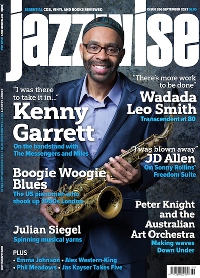 Picture of Jazzwise September 2021 issue