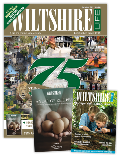 Picture of Wiltshire Life October 2021 75th Anniversary issue