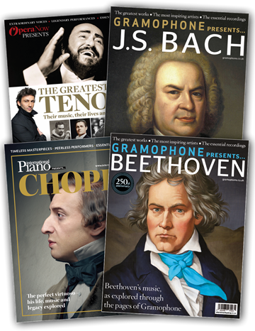 Picture of JS Bach, Beethoven, Chopin & The Greatest Tenors