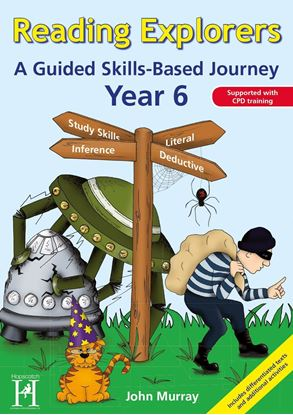 Picture of Reading Explorers - A Guided Skills-Based Journey Year 6